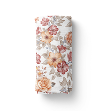 Load image into Gallery viewer, Sunset Floral Swaddle
