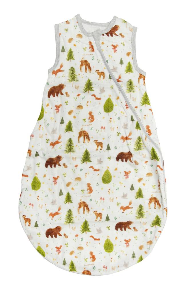 Sleeping Bag 1 TOG - Forest Friends