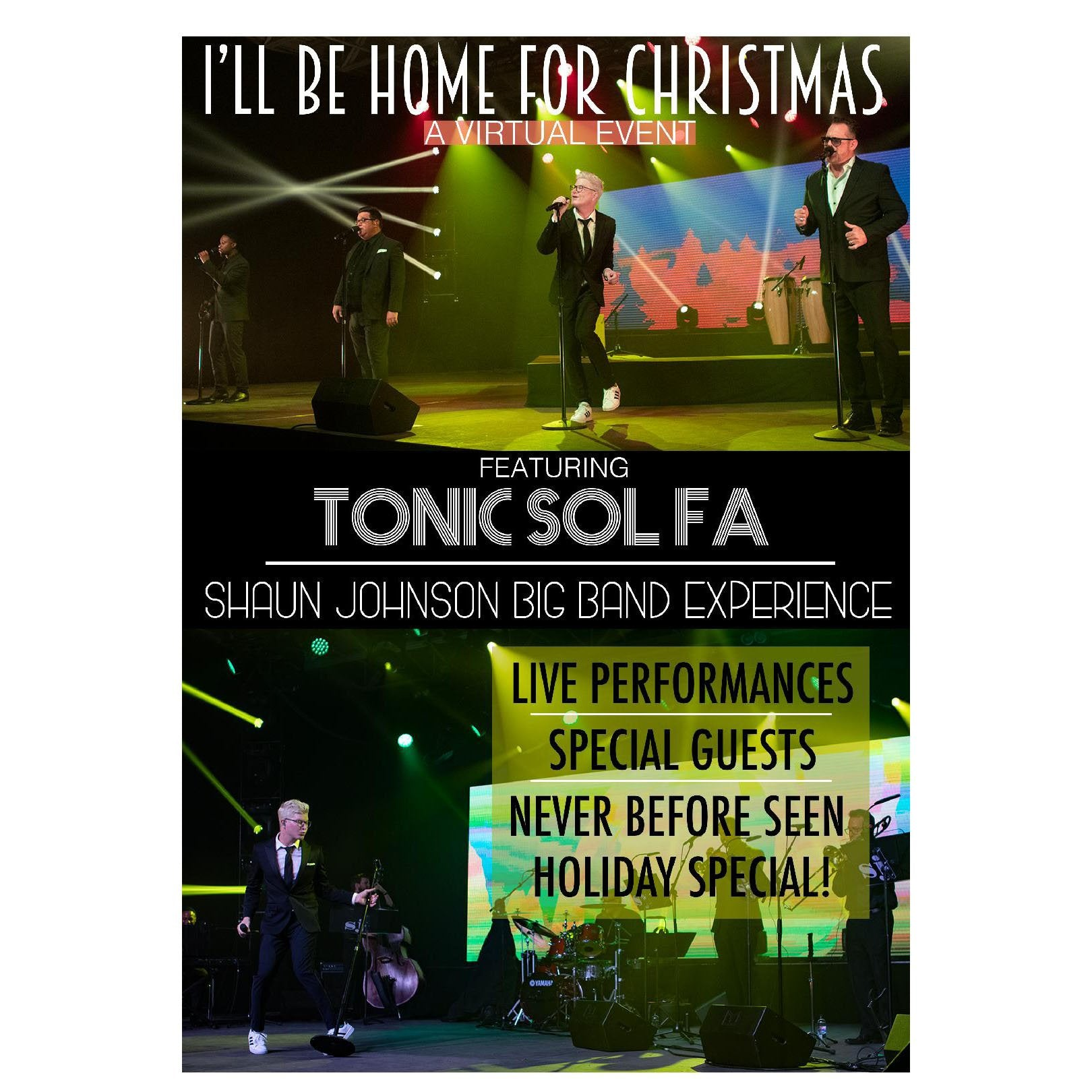"White Bear Lake MN ~ Sat Dec 19 ~ ""I'll Be Home for Christmas"" Virtual Tour Ticket"
