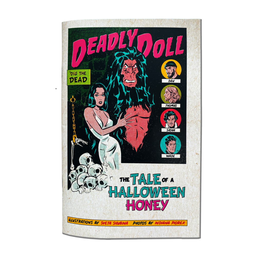 deadly doll comic book