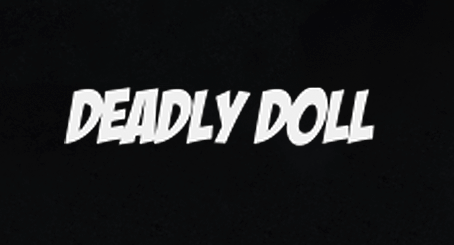 black deadly doll t-shirt