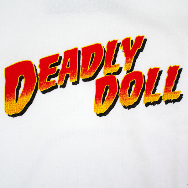 deadly doll cropped baby t