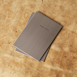 Monday Sunday A5 Notebook 2pk Notebooks Grey