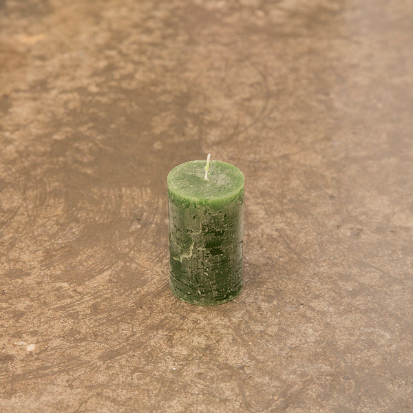 Monday Sunday Candles 6x10 Candles Green