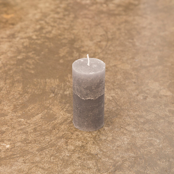 Monday Sunday Candles 6x12,5 Candles Grey