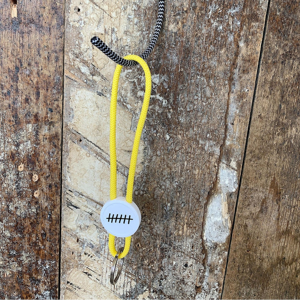 Monday Sunday Keyhanger Key hanger Yellow
