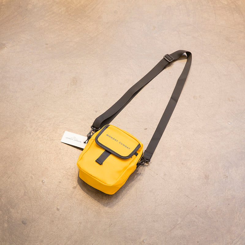 Monday Sunday Multi-function small waistbag - JZ-D233.Y Bags Yellow