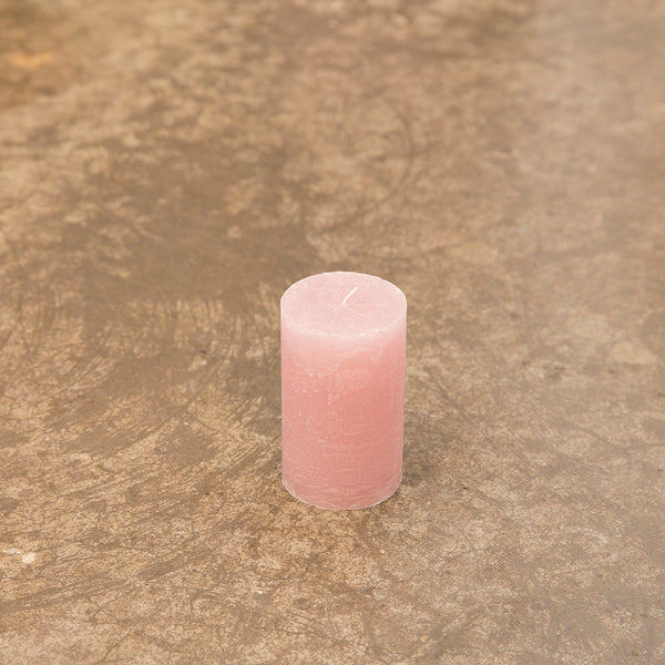 Monday Sunday Rustik 6x10 Candles Pink