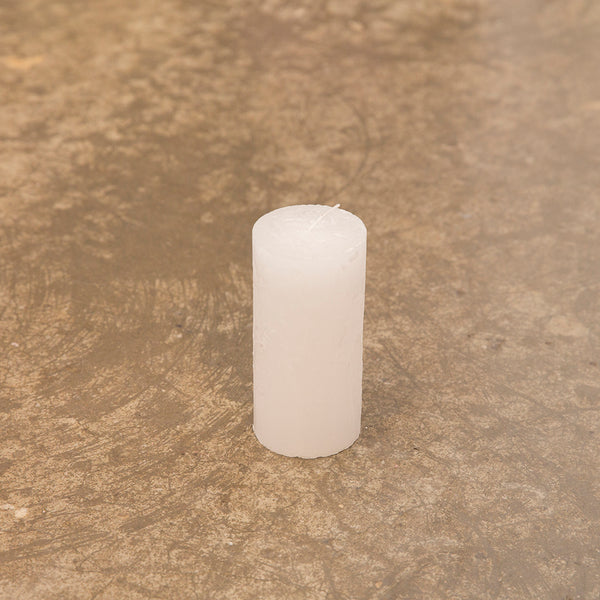 Monday Sunday Rustik 6x12,5 Candles White