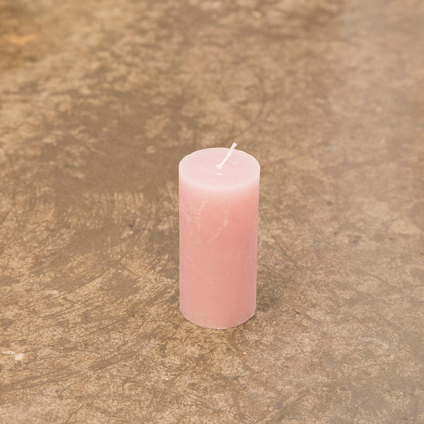Monday Sunday Rustik 6x12,5 Candles Pink