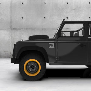 THE TAILORED DEFENDER SQUARE DECAL