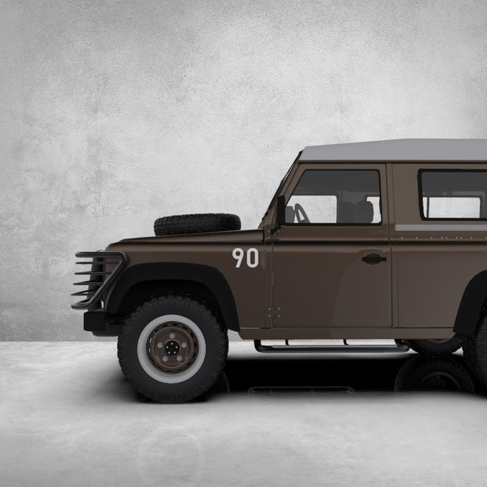 DEFENDER 90 SIDE DECAL