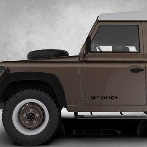MILITARY STYLE ROUGH DEFENDER DECAL