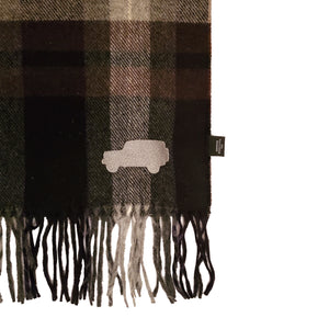 Overlander Brown Plaid Scarf