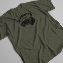Load image into Gallery viewer, THE ORIGINAL DEFENDER T-SHIRT