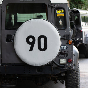 DEFENDER 90 RETRO SPORT SPARE TYRE COVER