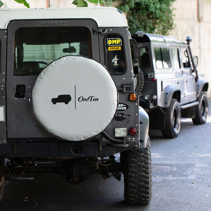 DEFENDER 110 SPARE TIRE COVER-II