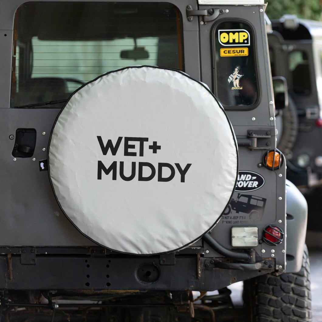 WET+MUDDY SPARE TYRE COVER