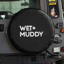 Load image into Gallery viewer, WET+MUDDY SPARE TYRE COVER