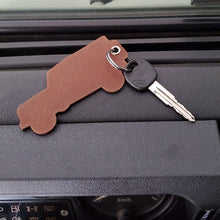 Load image into Gallery viewer, Genuine Leather Key Tag