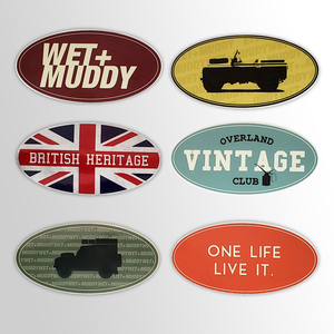 Vintage Sticker Set