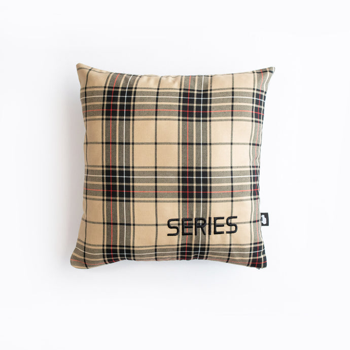 SERIES PILLOW LAND ROVER SERIES BEIGE BLACK