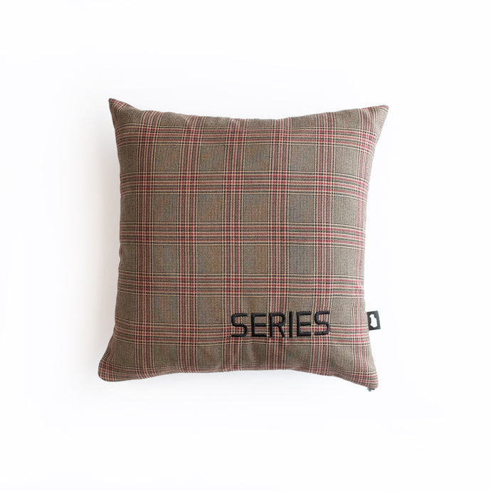 SERIES PILLOW LAND ROVER SERIES MAROON BROWN