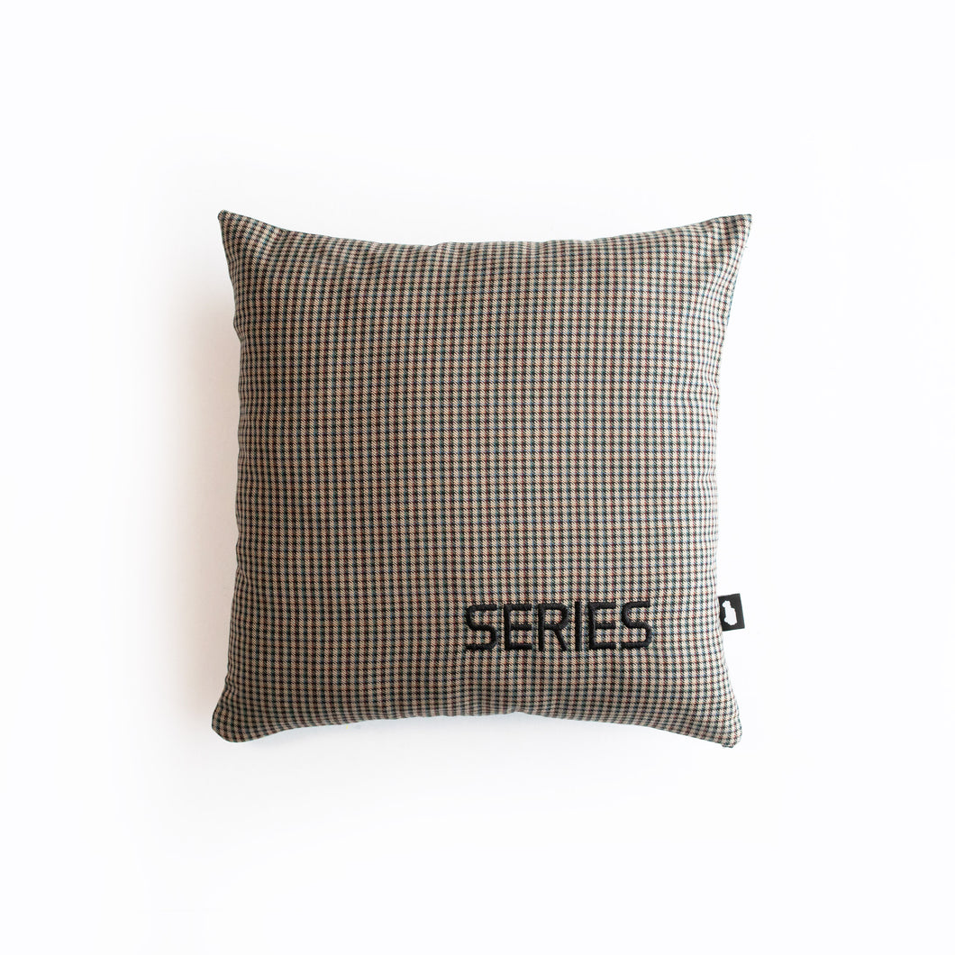 SERIES PILLOW LAND ROVER SERIES MAROON BEIGE NAVY