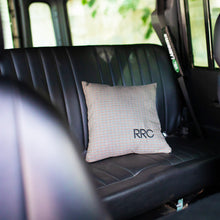 Load image into Gallery viewer, RRC PILLOW RANGE ROVER CLASSIC MAROON BEIGE NAVY