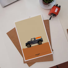 Load image into Gallery viewer, Wet+Muddy Overlander Art Print