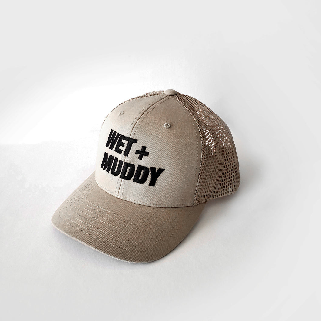 Wet+Muddy Retro Trucker Cap