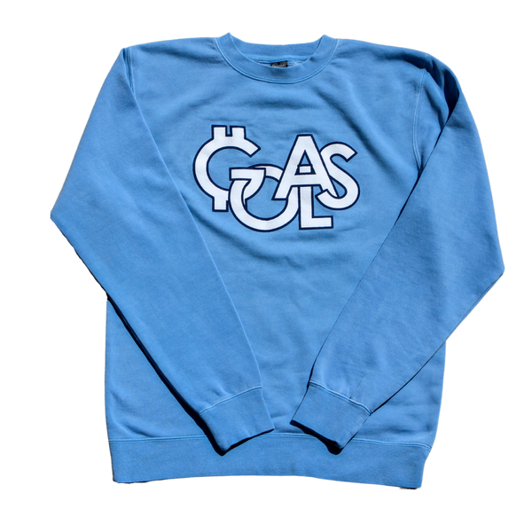 GOALS Olympic Light Blue Crewneck Sweatshirt