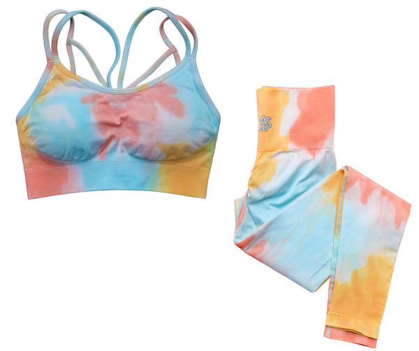 GOALS Sunburst Seamless Yoga Set (Bra x Leggings sold separately)