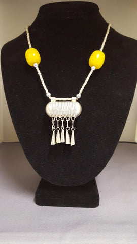 Ethiopian Jewelry - Necklace with Pendant