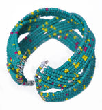 Blue Beaded Bracelet from Harar