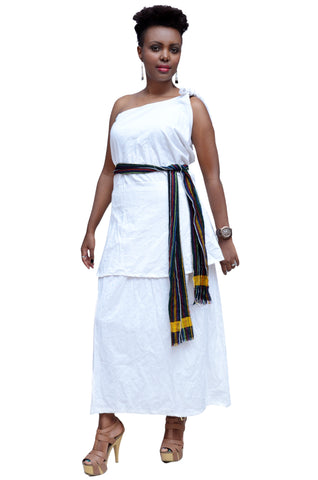 Oromo Traditional Women Dress Mesh Cart
