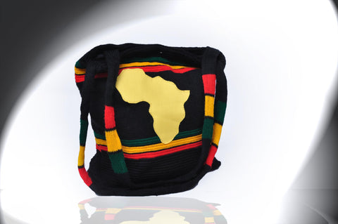 Handbag with African Map