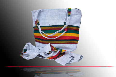 Handbag with Ethiopian Flag