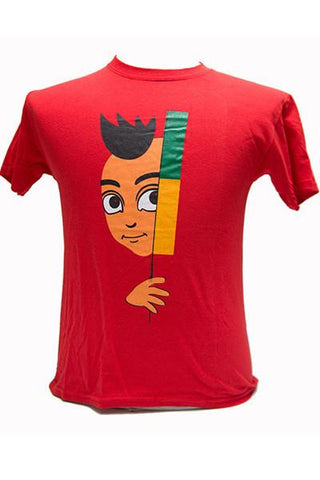 'Kuncho' Youth Tshirt -Red