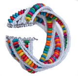 Multicolored Beaded Bracelet from Harar