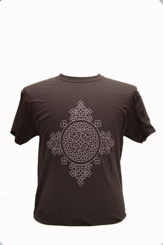 Meskel Men Tshirt- Brown