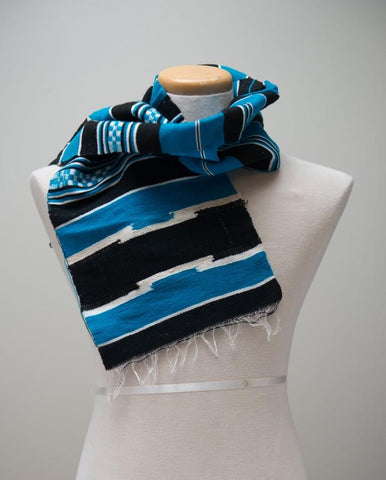 Traditional Debub Scarf Blue