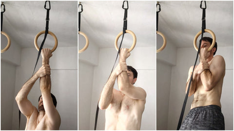Assisted One Hand Pull Up Ring