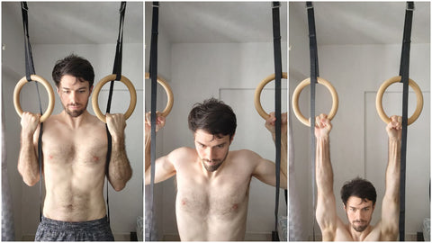 Jump Negative Pull Up Ring