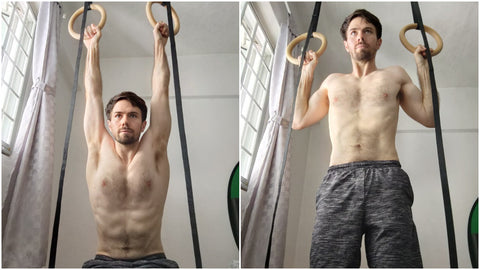 Leg Assisted Pull Up Ring