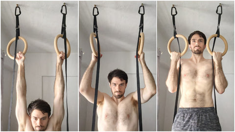 Normal Pull Up Rings