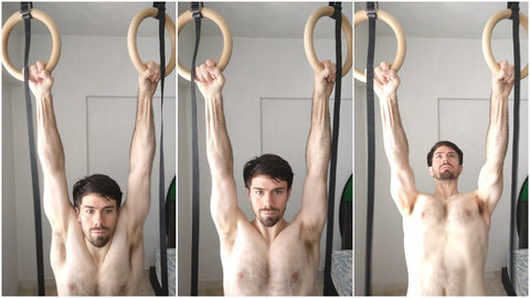 Scapular Pull Up Rings