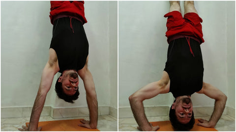 Wall Handstand Push Up
