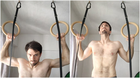 Wide Grip Pull Up Ring