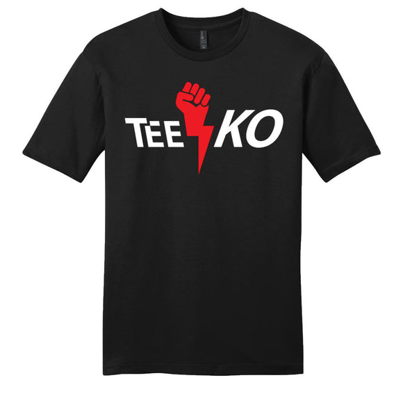 Tee KO Logo Black T-Shirt